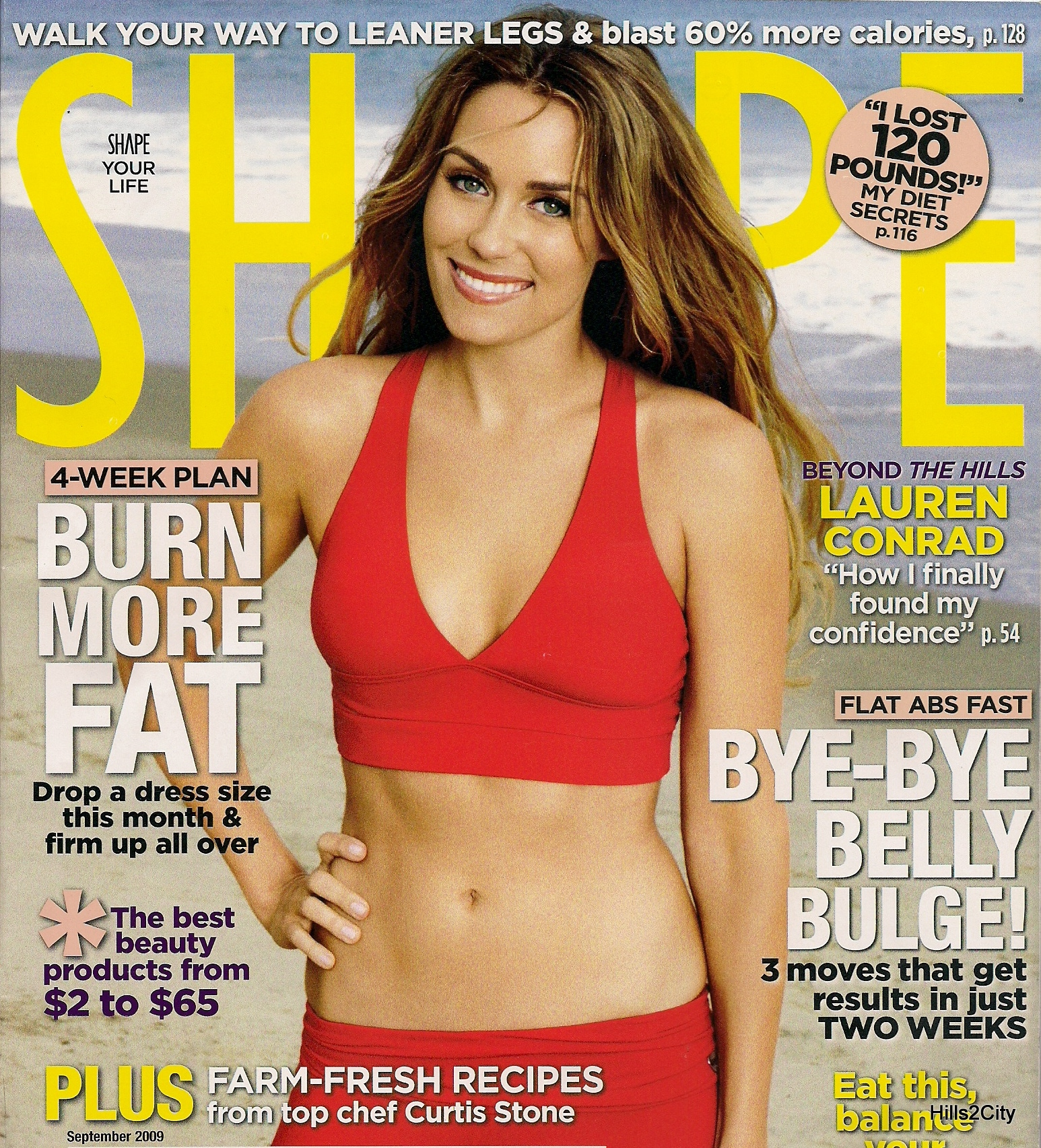 Lauren conrad covers glamour may