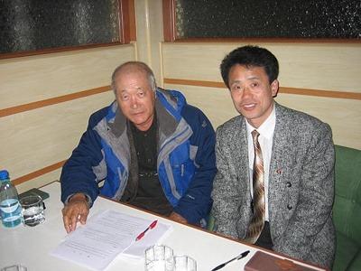 2008년 옥수수종자 개발사업을 위한 협의 중