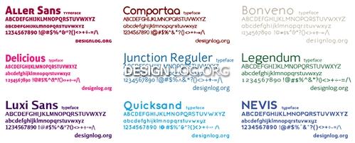전문 디자인을 위한 고급 폰트 컬렉션 10선