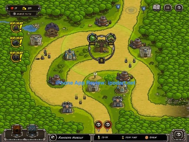 아이패드 추천 디펜스 게임 킹덤러쉬 Kingdom Rush
