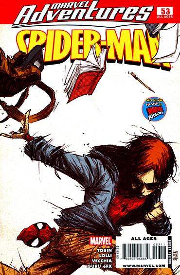 〈마블 어드벤처스 : 스파이더맨〉 #53 - 스파이더맨의 정체가 들통나다!