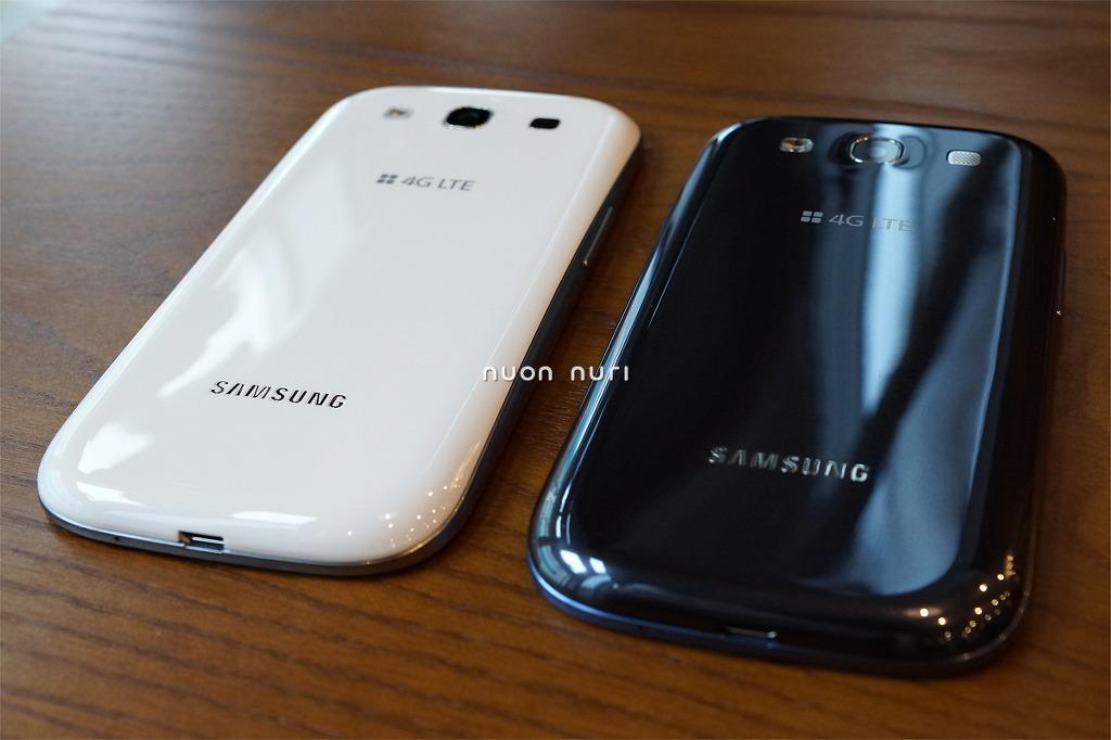 갤럭시S3 색상 비교 컬러 추천 갤3 갤스3 갤럭시S3 LTE E210S E210K E210L 페블블루 마블화이트