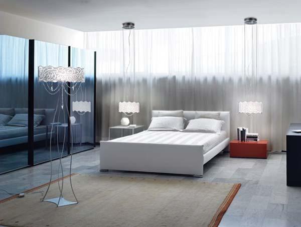 4 for Lampade a soffitto per camera da letto