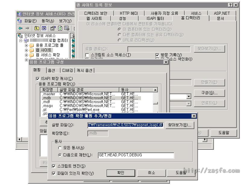 IIS6 ( Windows 2003 )