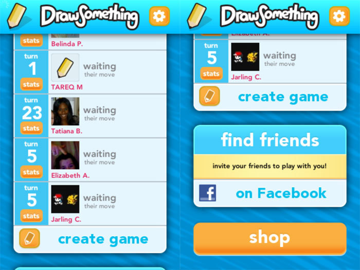 [아이폰 게임] Draw Something by OMGPOP