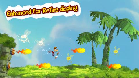 Rayman Jungle Run 아이폰 아이패드 게임 2012 베스트