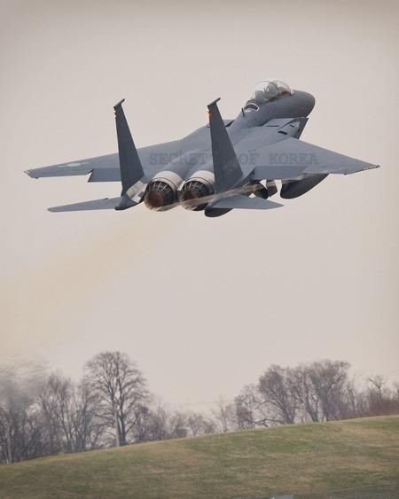 한국,F15K전투기 2대 추가인수 안치용