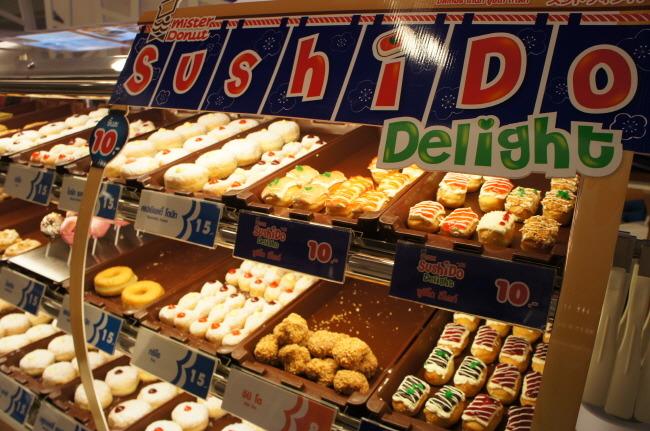 못말리는 일본 스시 사랑, 도너츠를 스시로 만들다!
