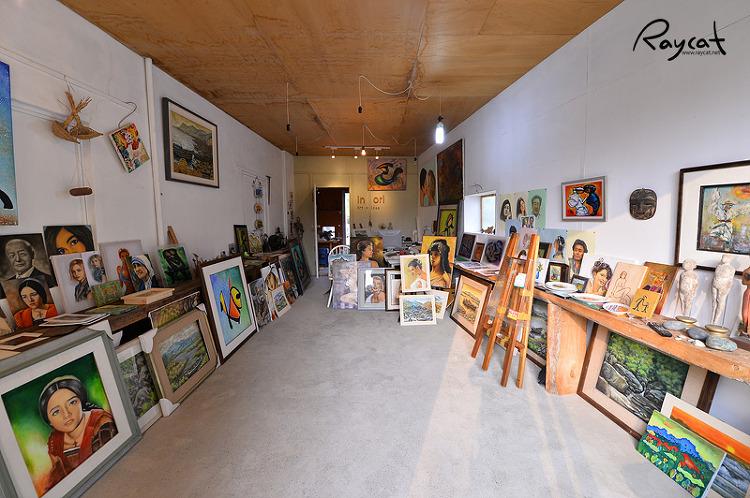 대룡마을 에술가의 작업실