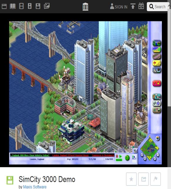 심시티3000 데모, Simcity 3000 Demo