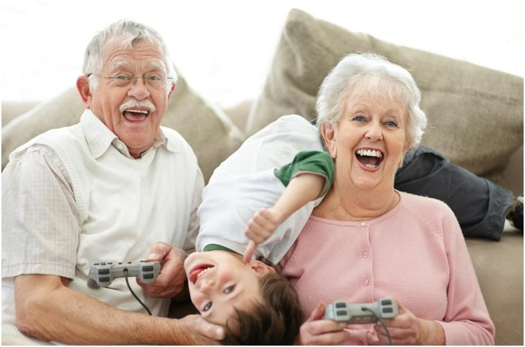 Как подружиться со своими бабушками и дедушками?
