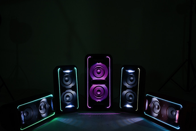 [소니 고출력 블루투스 스피커 리뷰] GTK-XB7, GTK-XB5가 있는 곳이 바로 클럽