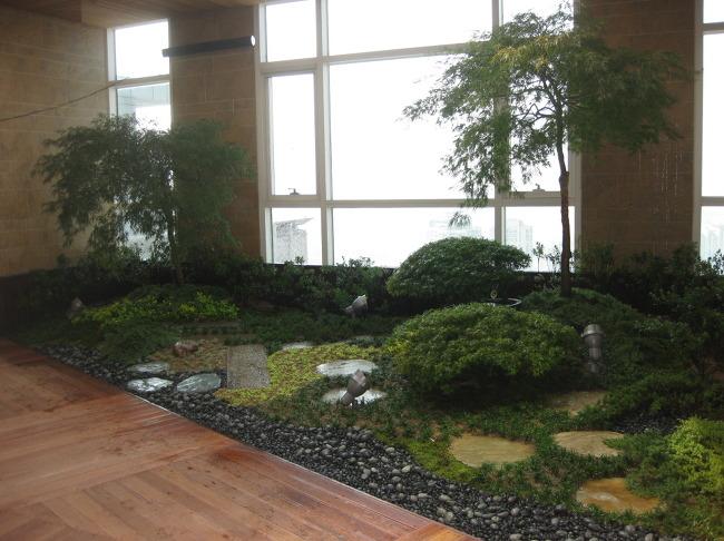 더숲의 정원이야기 :: [더숲 실내조경] 단풍나무로 포인트를 준 ...