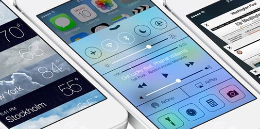 iOS7.0 디자인 이미지