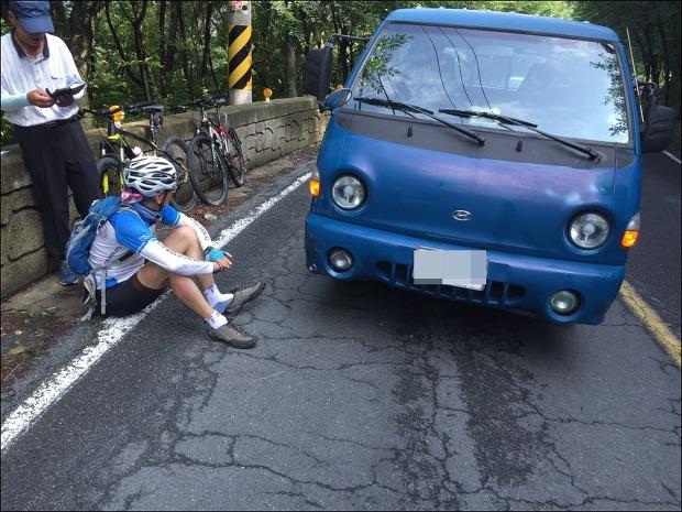 45년 무사고 자전거 운전...당해보니 아찔했다