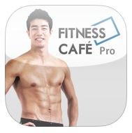 피트니스카페 프로  FitnessCafe Pro 아이폰 아이패드 추천 앱 집과 사무실에서 하는 운동법