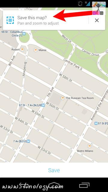 Google Maps Offline Save - Android Google Maps 8.0 - iOS Google Maps 3.0