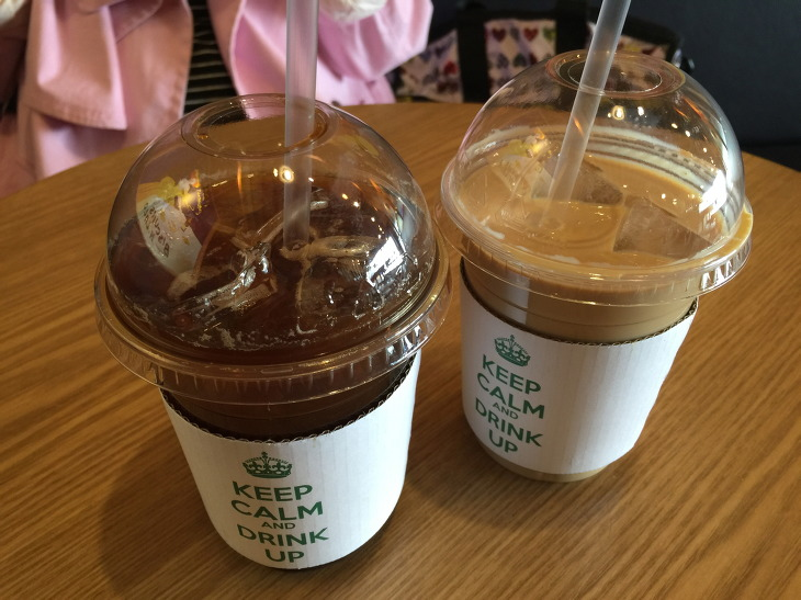 송정 저스트 커피 JUST COFFEE 1+1 아메리카노 카페라떼 후기