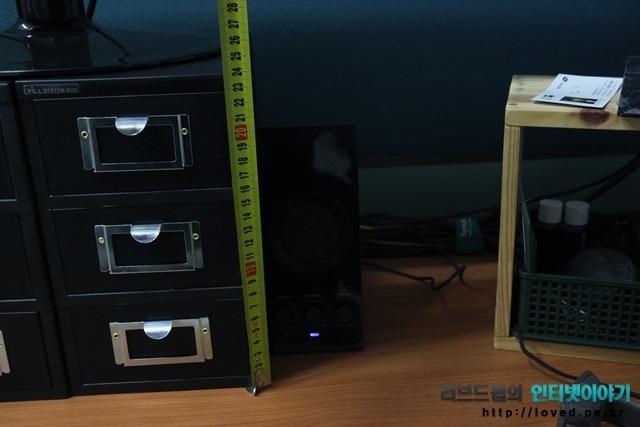 다이소 시스템 박스 모니터 받침대로 활용하기