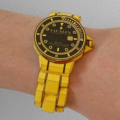 명품시계 롤렉스 시계 종이모형으로 만들기!