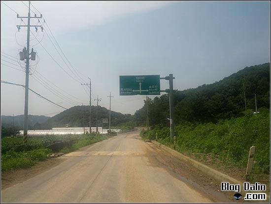 철원 계곡 캠핑장 안양골 가는길_03