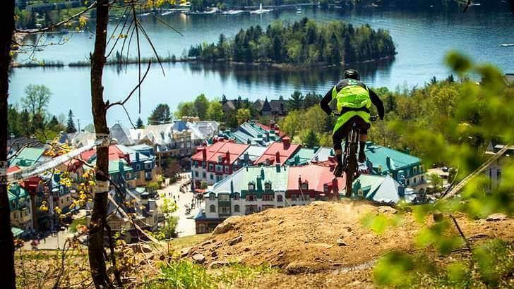 캐나다 산악자전거 선수권 대회입니다
