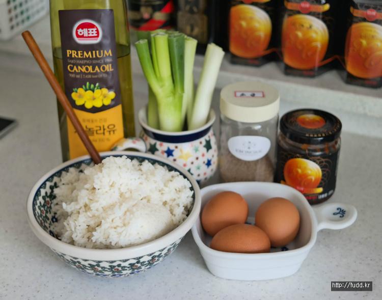 [볶음밥]대파와 달걀만 넣은 XO소스 볶음밥 만들기, 엑스오 볶음밥 만드는 법