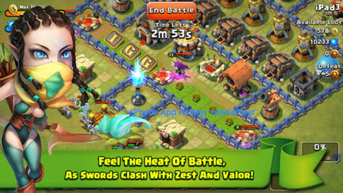Castle Clash 아이폰 아이패드 베스트 무료 게임