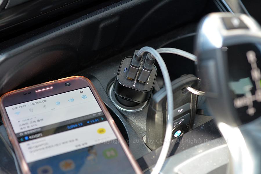 까미, 스마트폰, 버바팀, 차량용 충전기, 충전기, 차량용, 퀄컴, 퀵차지, 퀄컴 퀵차지, 퀵 차지, 퀵차지 3.0, 듀얼 포트, 자동차, 자동차 충전기, Qualcomm Quick Charge 3.0, 삼성, 아이폰, 갤럭시, 갤럭시 S7, 스마트 고속 충전, 충전, 고속, IT, CCAMI, 케이블, 안드로이드, 5pin, 5pin 케이블, 안드로이드 케이블, 포트 2개, 포트, 리뷰, 네비게이션, 티맵, 네비게이션
