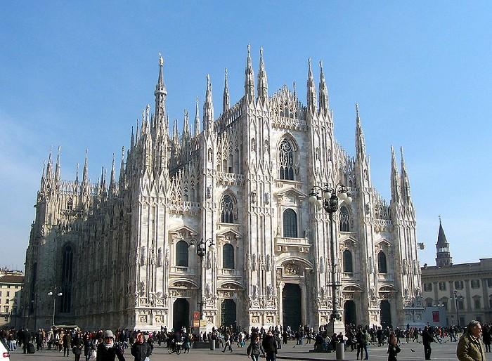 밀라노 대성당 Milan Cathedral 외부