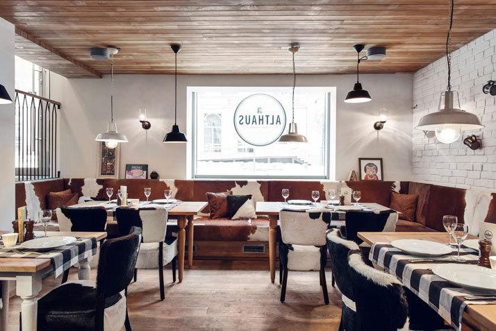 pb studio and filip kozarski althaus bavarian restaurant 5osa. Black Bedroom Furniture Sets. Home Design Ideas