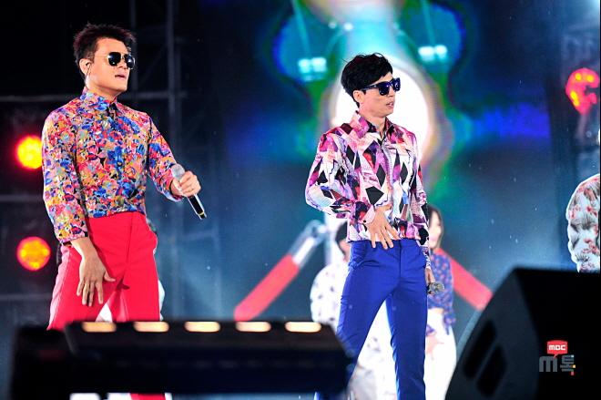 '댄싱 게놈'(유재석-박진영)