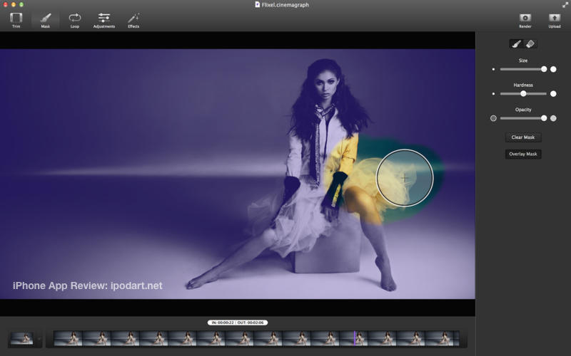 Cinemagraph Pro 맥 사진편집 애플 디자인 어워드  2014