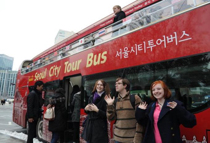 서울시티투어버스 이미지입니다.