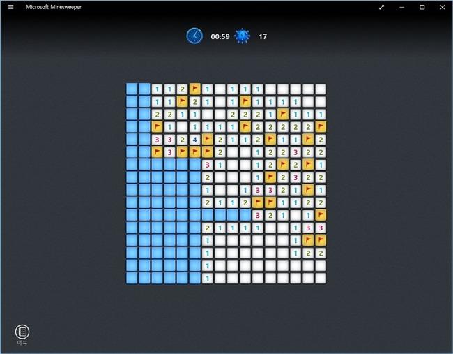 윈도우10 고전게임 카드놀이 지뢰찾기 게임 하는 방법
