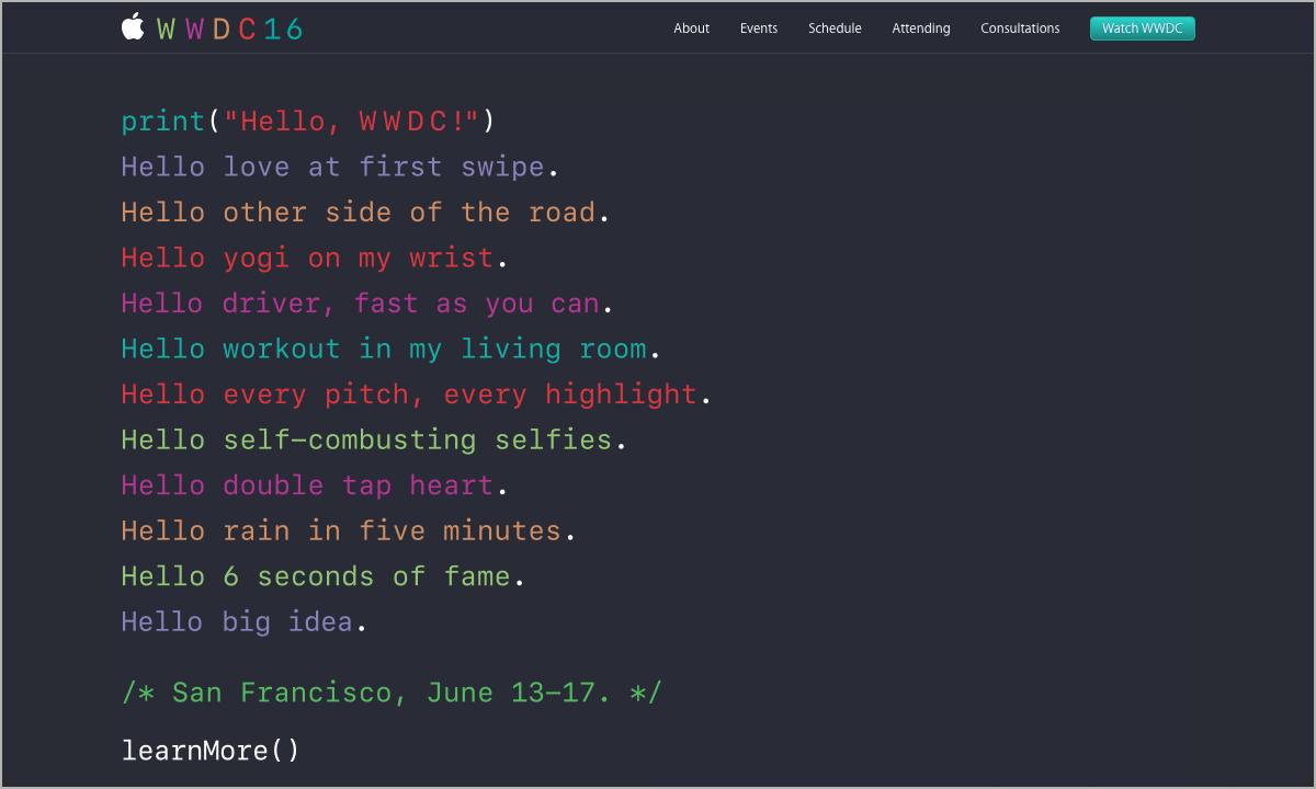 애플, Xcode 8에 코딩에 적합한 'San Francisco Mono' 고정폭 서체 추가