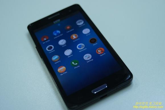 타이젠폰 (Tizen Phone) 프로토타입 샘플