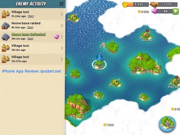 아이폰 아이패드 추천 게임 Boom Beach