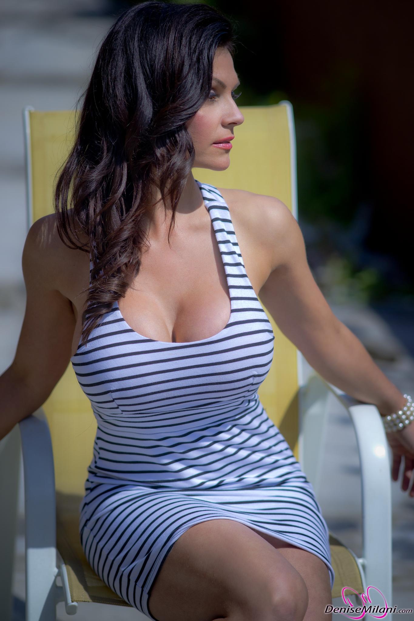 denise milani stripped dress denise milani 2014 03 04 16 36Denise Milani Yoga Pants