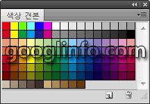 포토샵 CS5 강좌, 색상 견본 패널, Swatches             panel