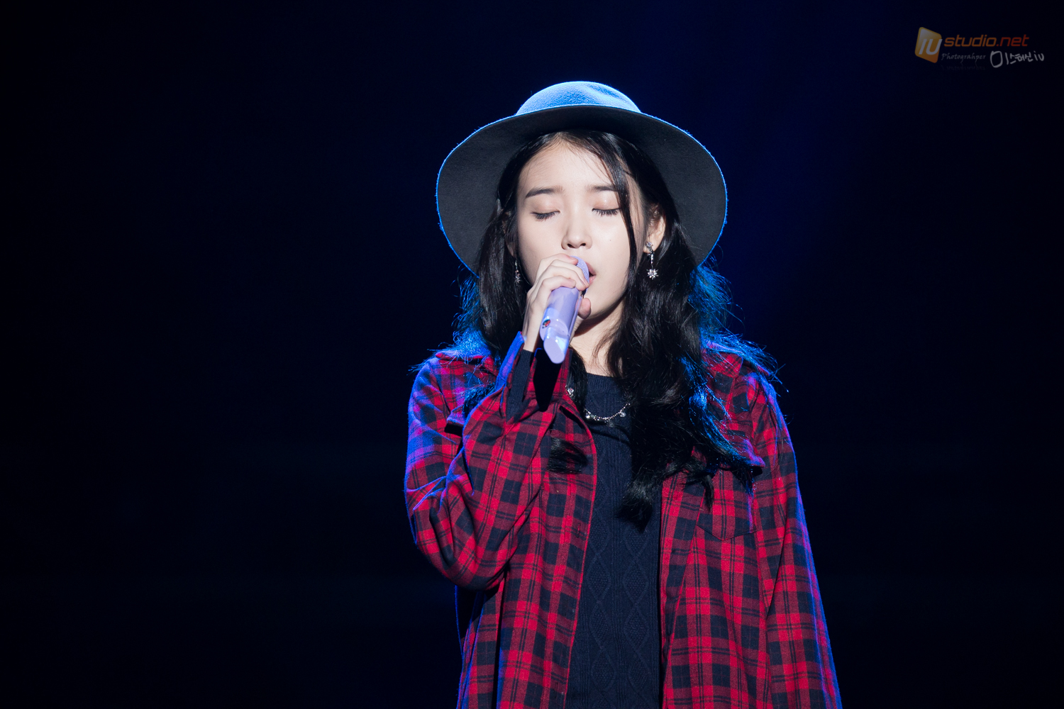 Image result for iu singing