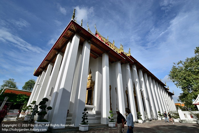 태국 여행 / 방콕 여행 / 거대한 와불상과 태국 전통 마사지 스쿨이 있는 '왓 포' 사원