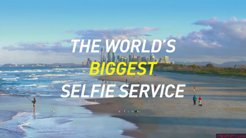 호주의 절경과 함께 기가픽셀의 사진을 찍는다! - 호주관광청(Tourism Australia)의 새로운 셀피(Selfie/셀카) 서비스, 기가셀피(Giga Selfie) 광고. [한글자막]