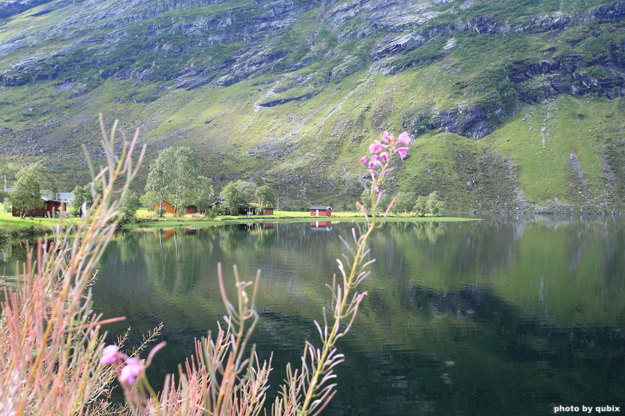 [노르웨이 여행] 게이랑에르 골든루트 63번 국도에서 만난 Eidsvatnet 호수