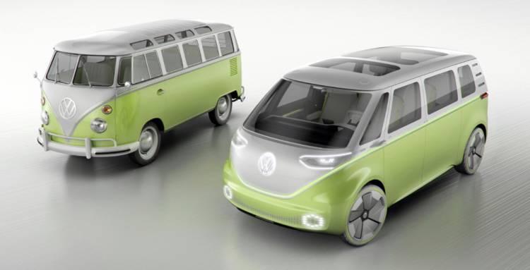 폭스바겐 마이크로버스(microbus), 전기차로 돌아온다.