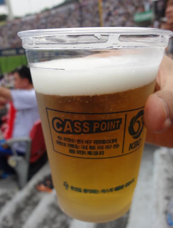 야구장 맥주
