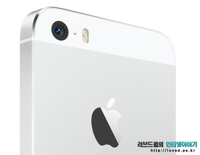 아이폰5S 화이트