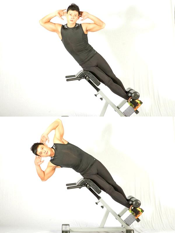 날씬한 허리를 위한 운동 2가지