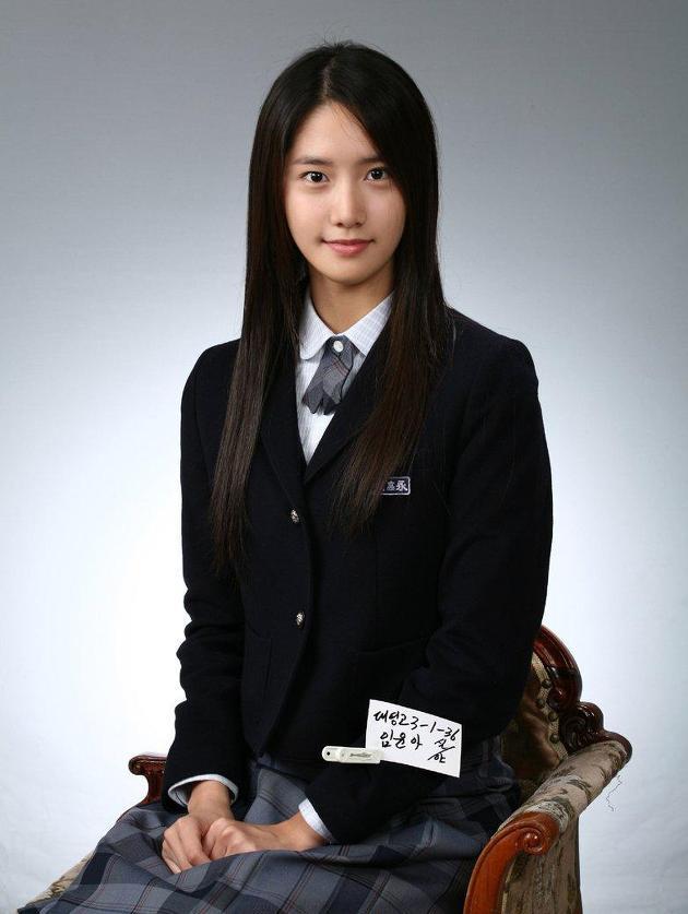 소녀시대 윤아 고등학교 졸업 사진