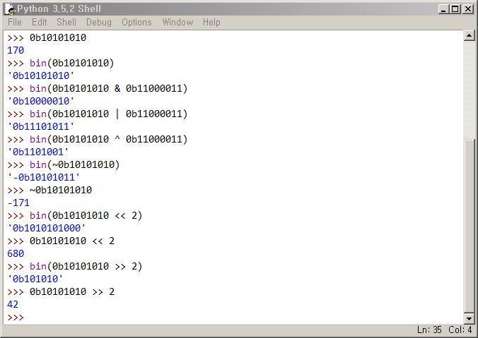 파이썬 비트연산자 사용법 정리 Python 비트연산